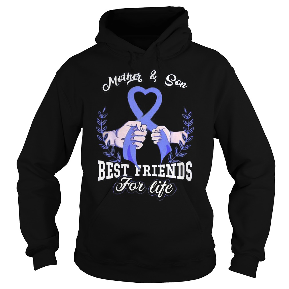 Mother And Son Best Friends For Life Hoodie