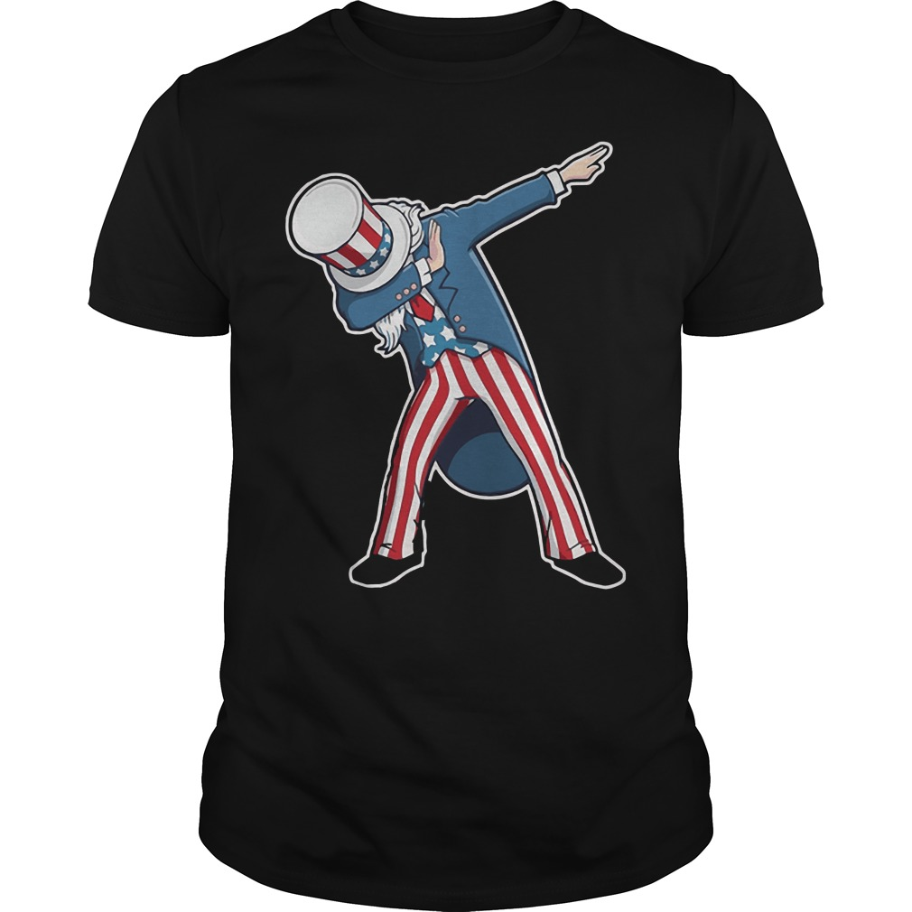 4th Of July Dabbing Uncle Sam Shirt