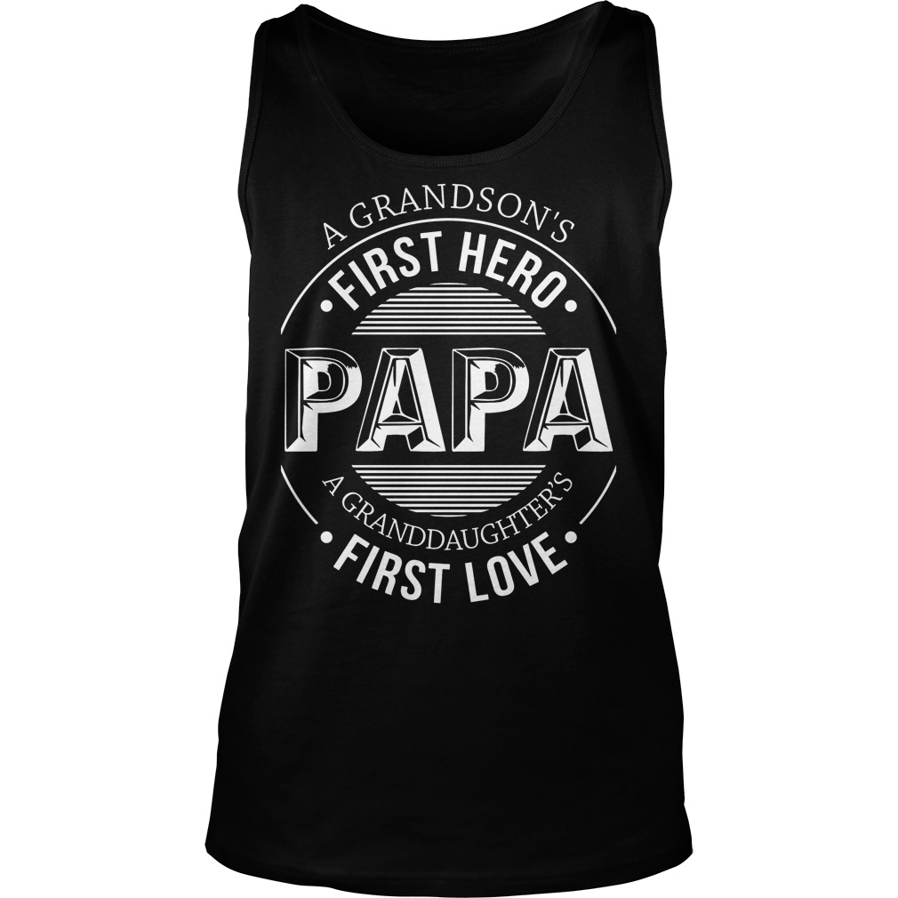 A Grandson's First Hero, First Love Tank Top