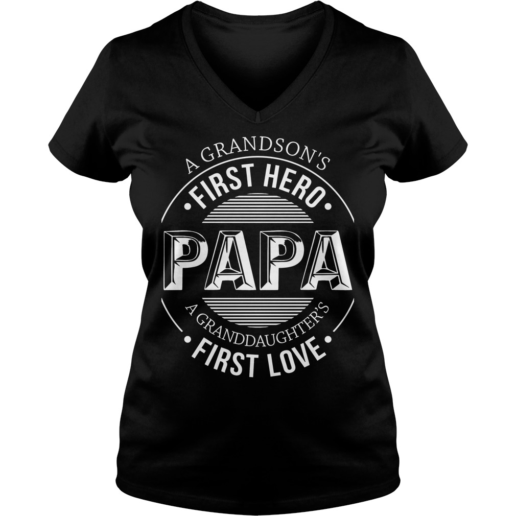 A Grandson's First Hero, First Love V Neck