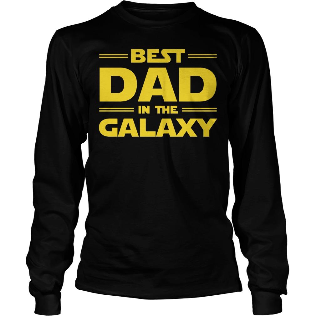 Best Dad In The Galaxy Longsleeve