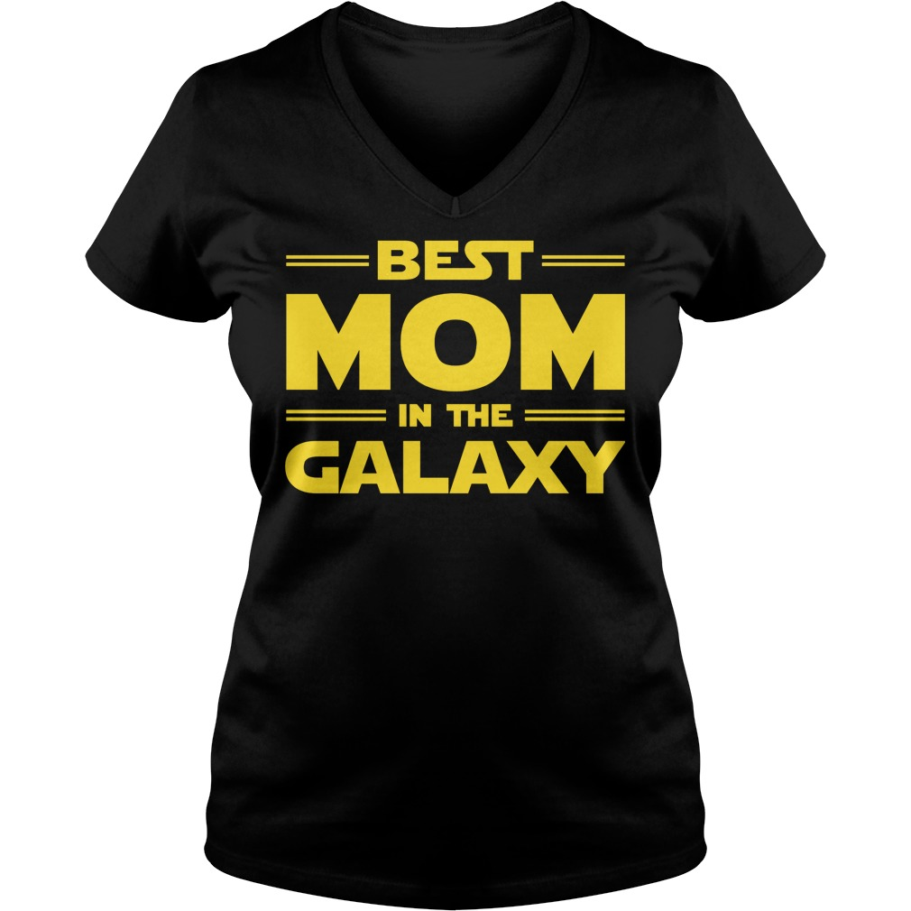 Best Mom In The Galaxy V Neck