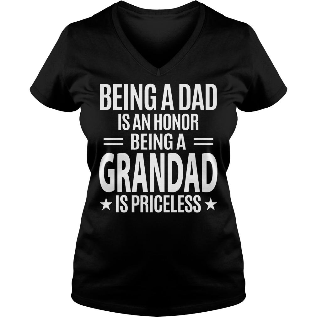 Grandad Is Priceless V Neck