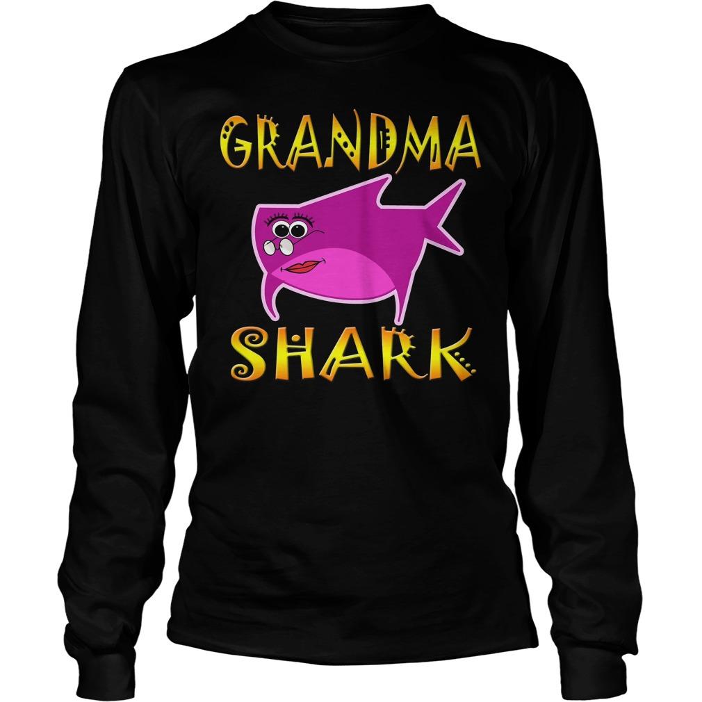 Grandma Shark Longsleeve