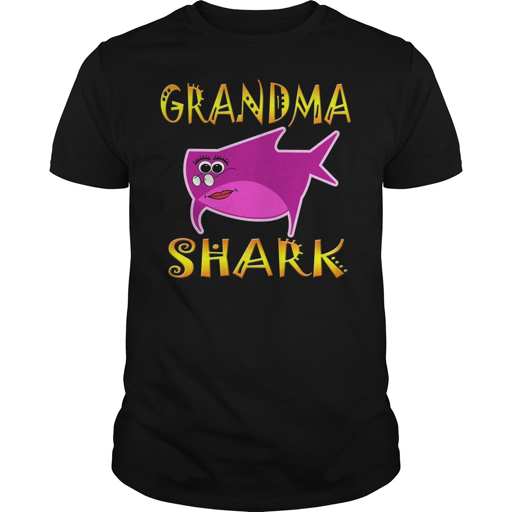 Grandma Shark Shirt