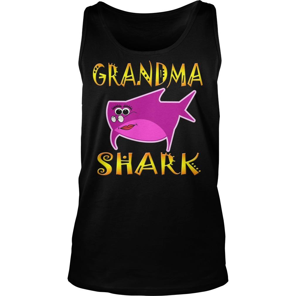 Grandma Shark Tank Top