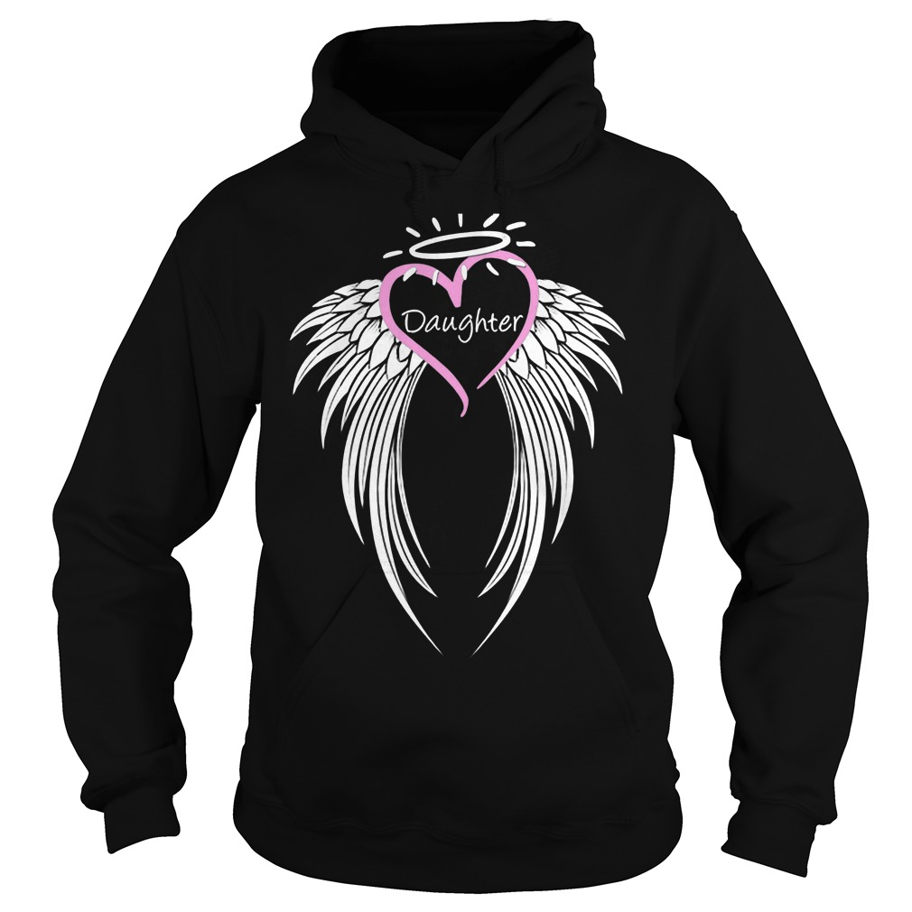Honoring Daughter Guardian Angel Hoodie