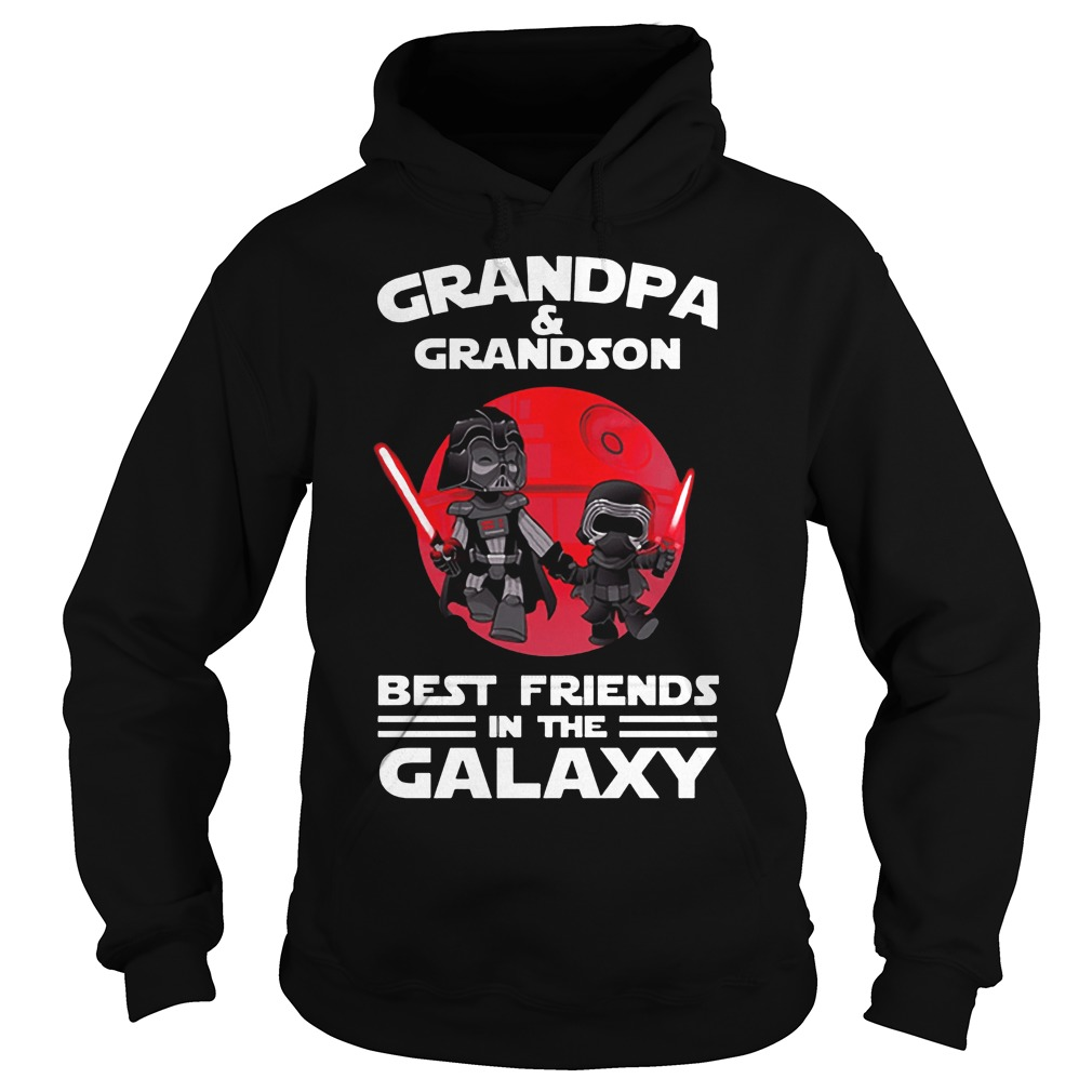 Star Wars Grandpa & Grandson Best Friends In The Galaxy Hoodie