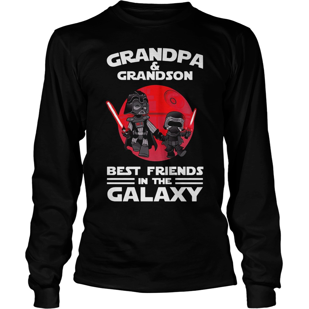 Star Wars Grandpa & Grandson Best Friends In The Galaxy Longsleeve