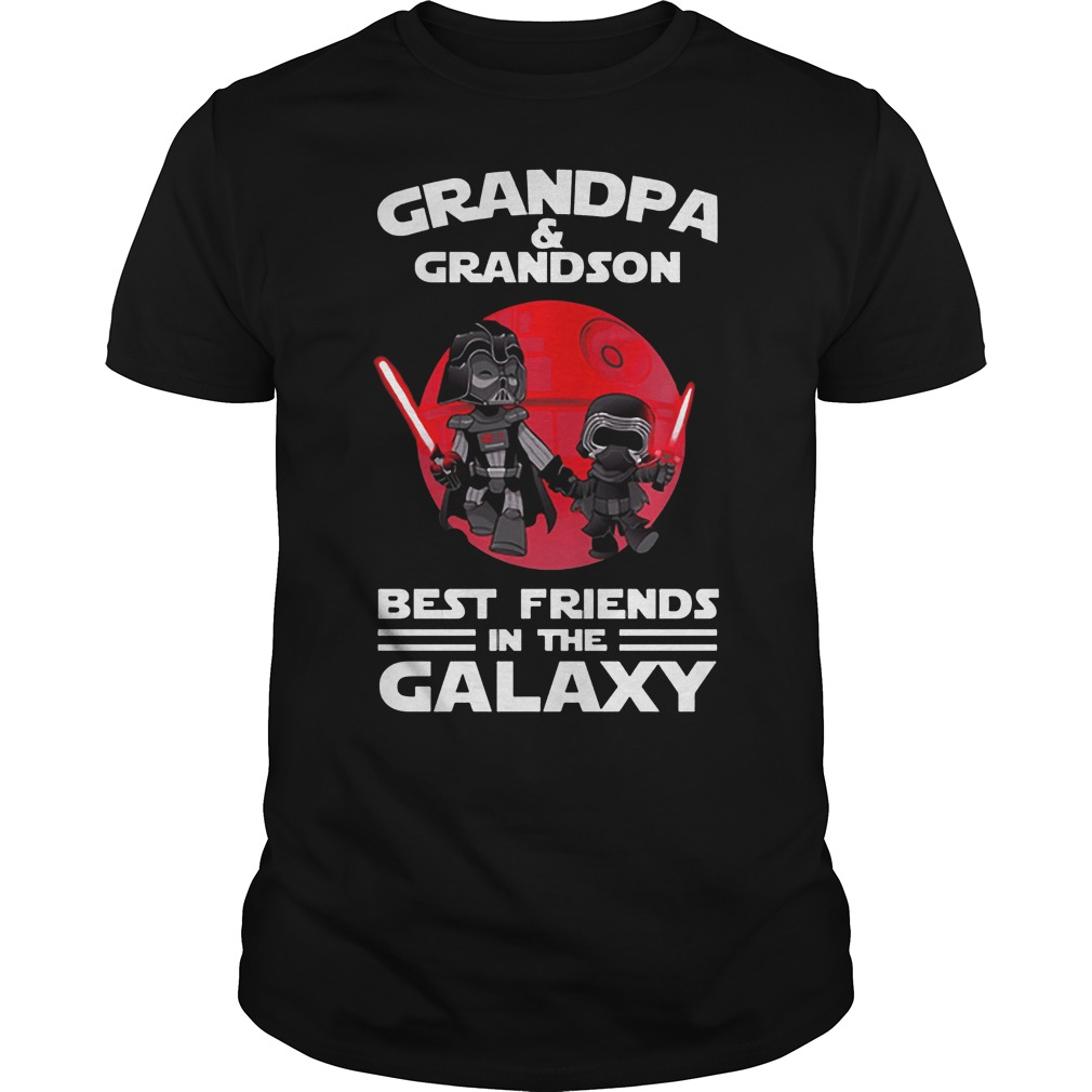 Star Wars Grandpa & Grandson Best Friends In The Galaxy Shirt