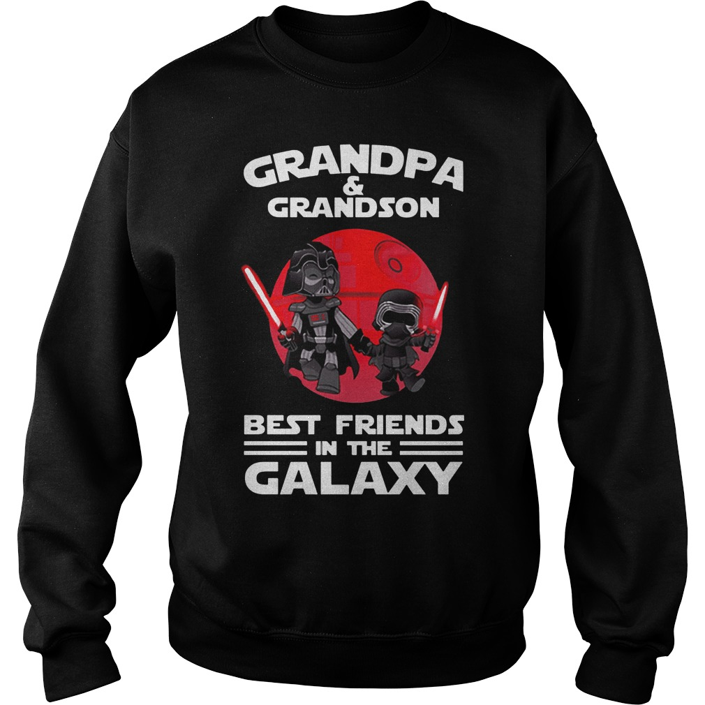 Star Wars Grandpa & Grandson Best Friends In The Galaxy Sweat Shirt