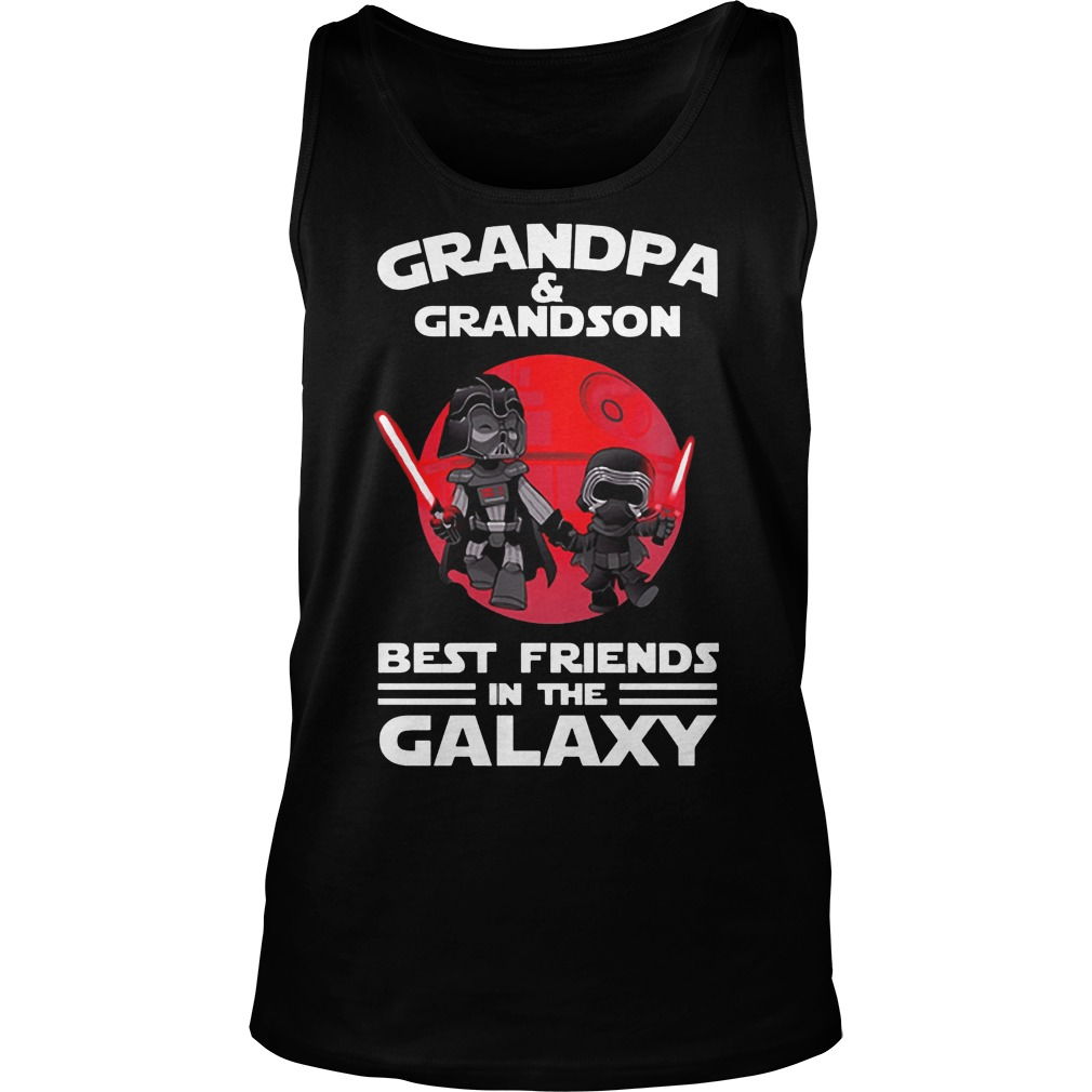 Star Wars Grandpa & Grandson Best Friends In The Galaxy Tank Top
