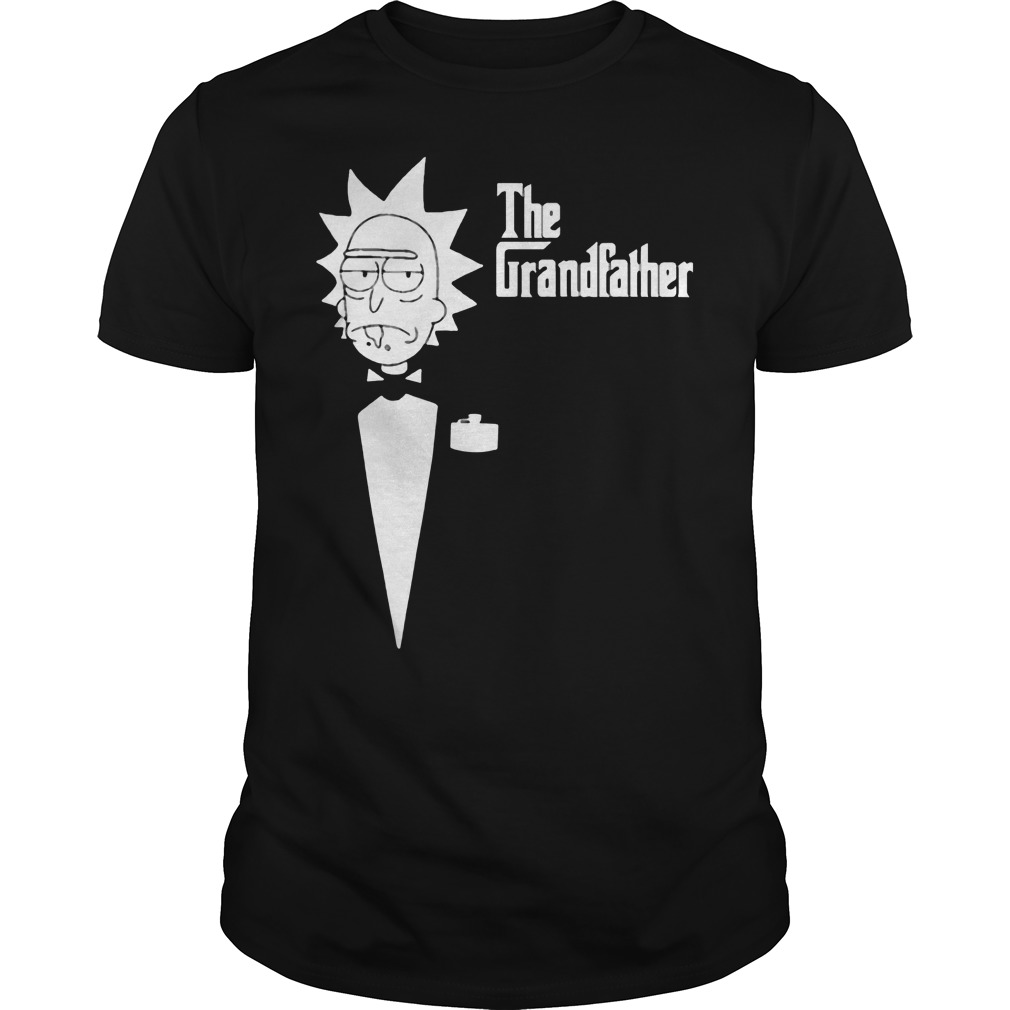The Grandfather Rick And Morty Shirt