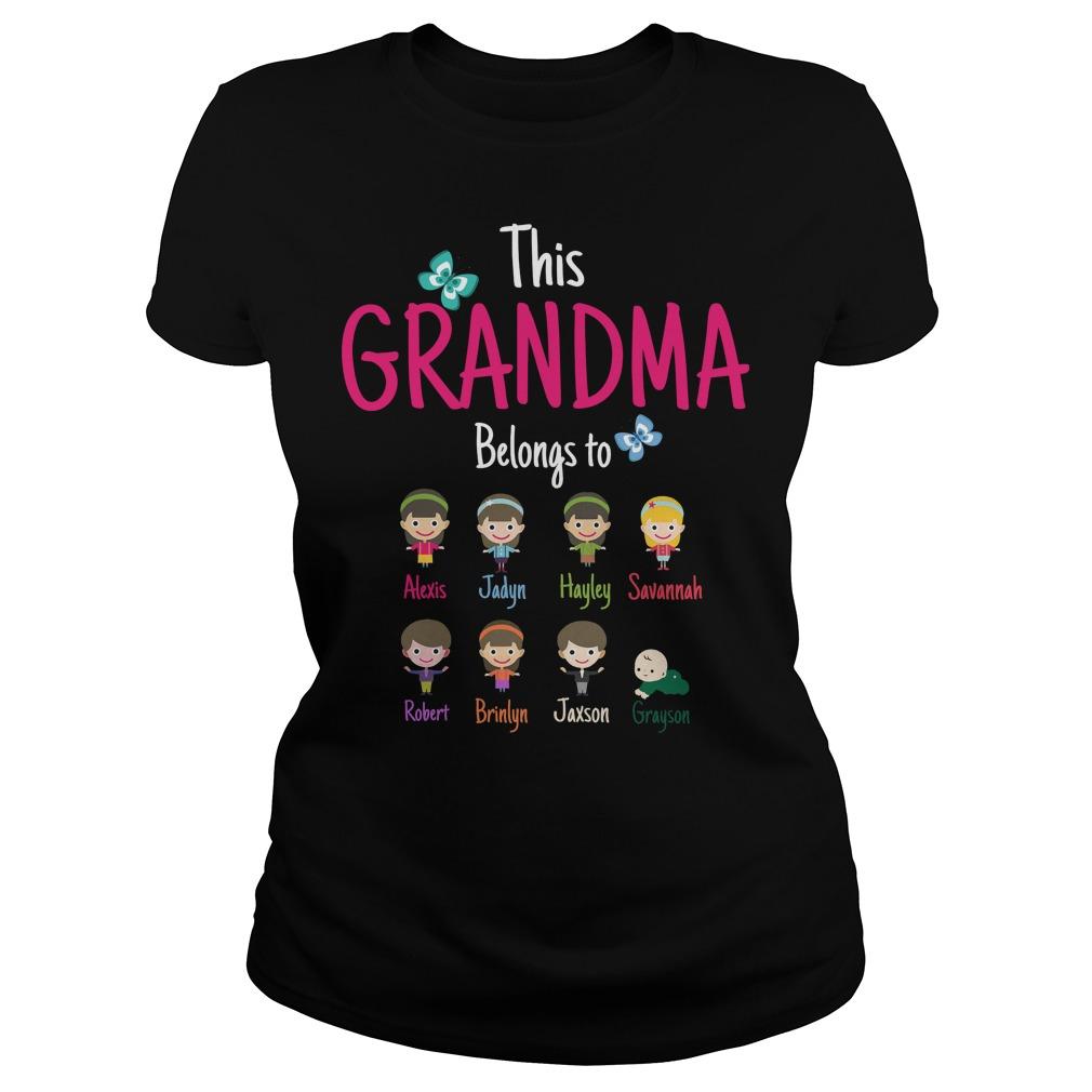 The Grandma Belongs To Ladies Tee