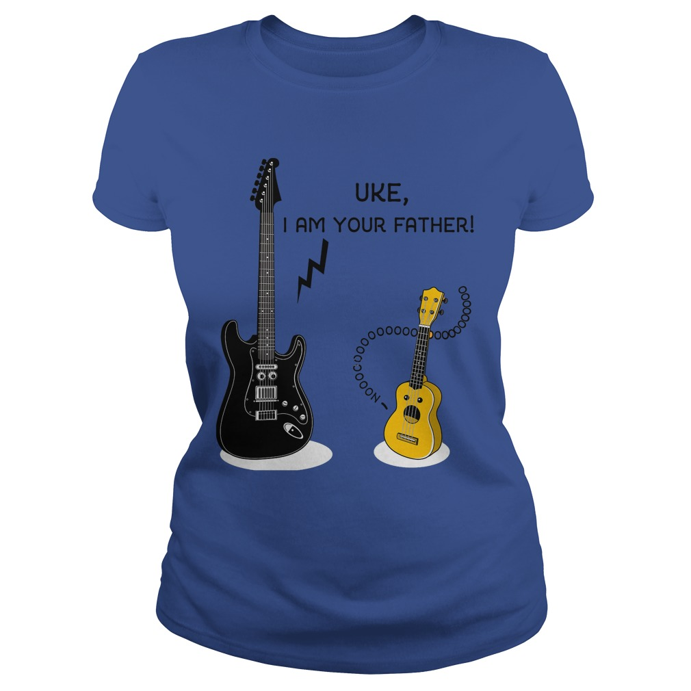 Uke, I Am Your Father Ladies Tee