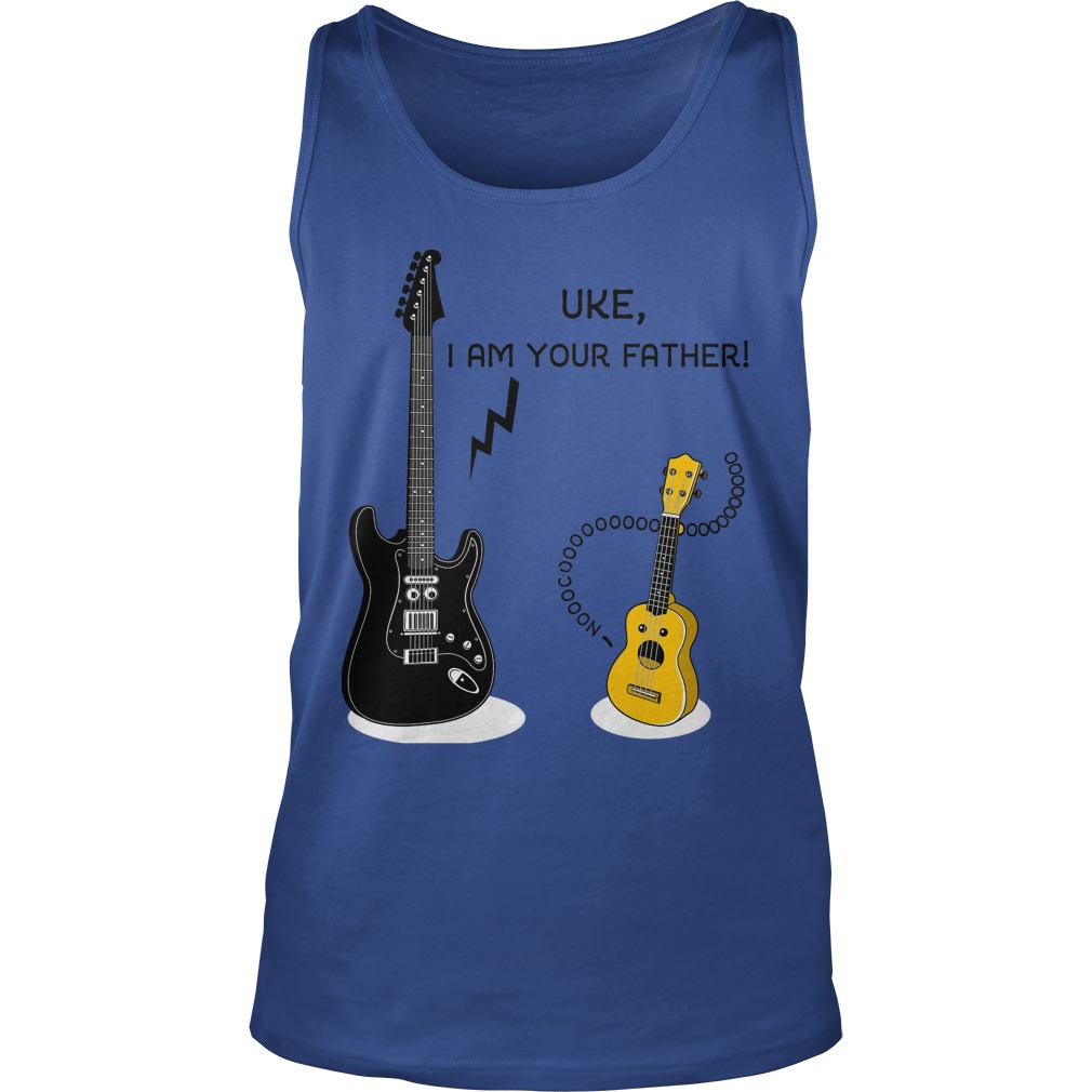 Uke, I Am Your Father Tank Top