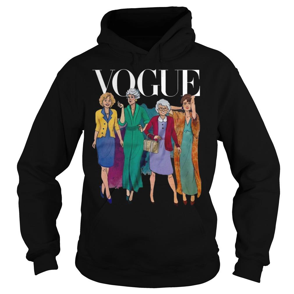 Vogue Golden Grandma Hoodie