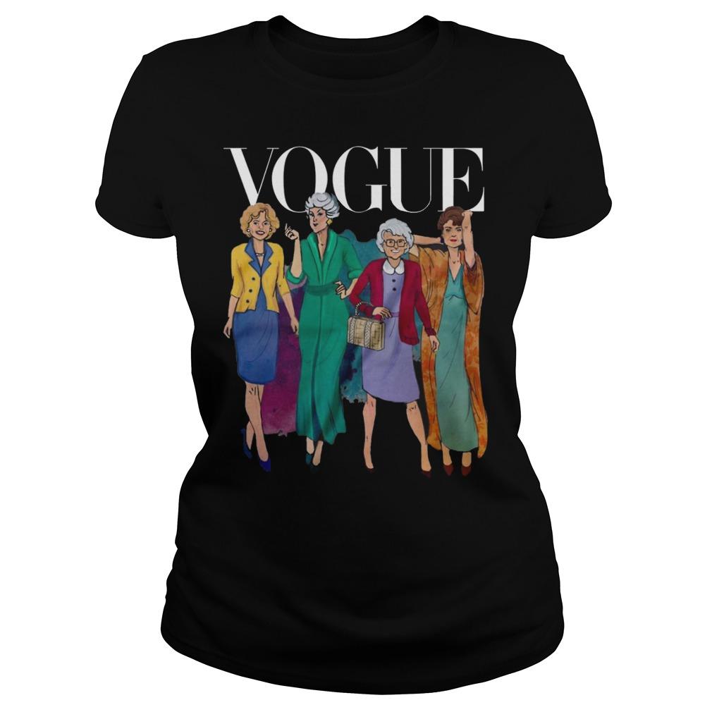 Vogue Golden Grandma Ladies Tee