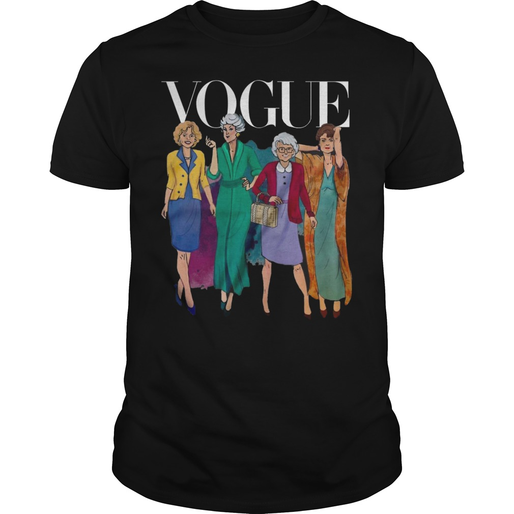 Vogue Golden Grandma Shirt