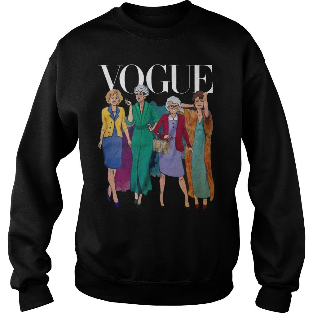 Vogue Golden Grandma Sweat Shirt