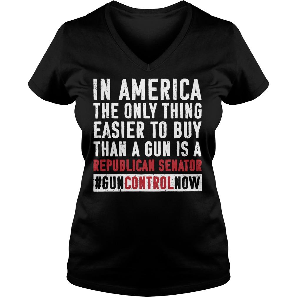 Anti Gun School Walkout Ban Assault Weapons V Neck