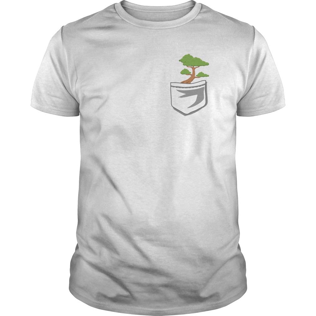 Cute Bonsai Tree In Your Pocket Shirt