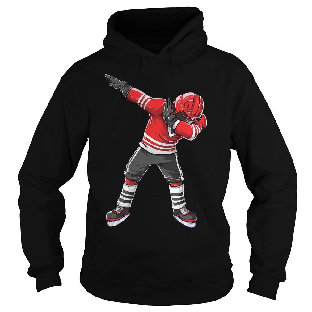 Dabbing Ice Hockey Hoodie