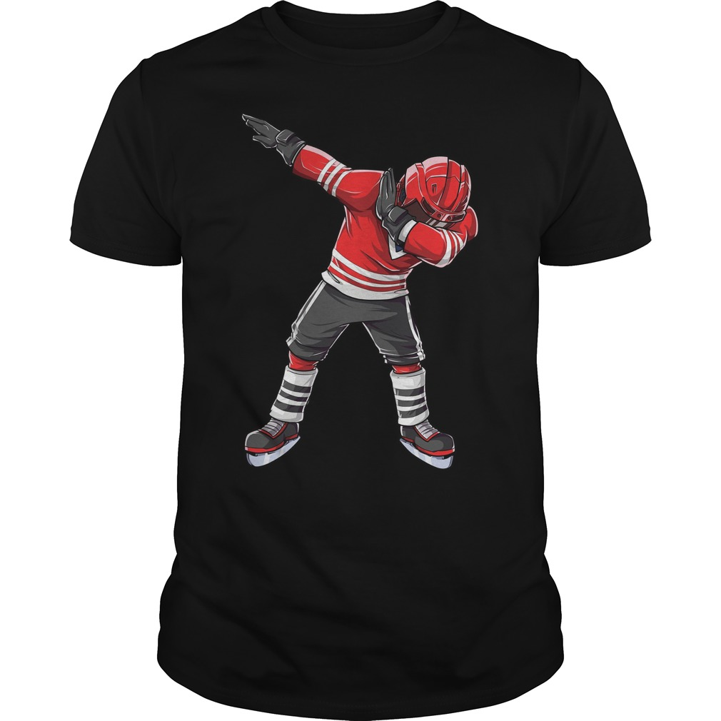 Dabbing Ice Hockey Shirt