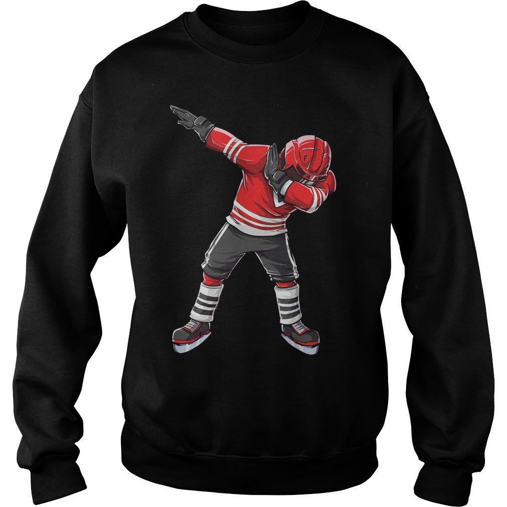 Dabbing Ice Hockey Sweater
