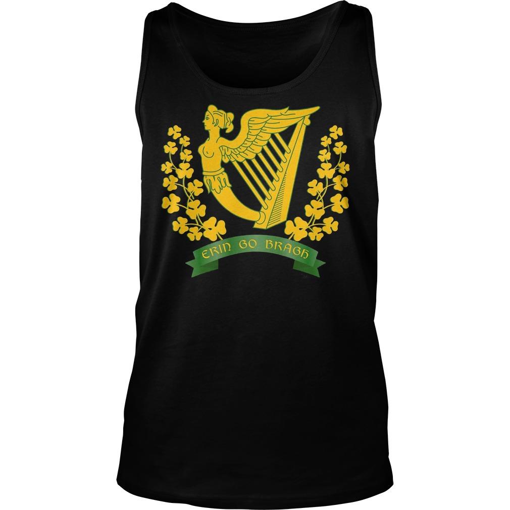 Erin Go Bragh Shirt Ireland Forever Irish Pride Tanktop