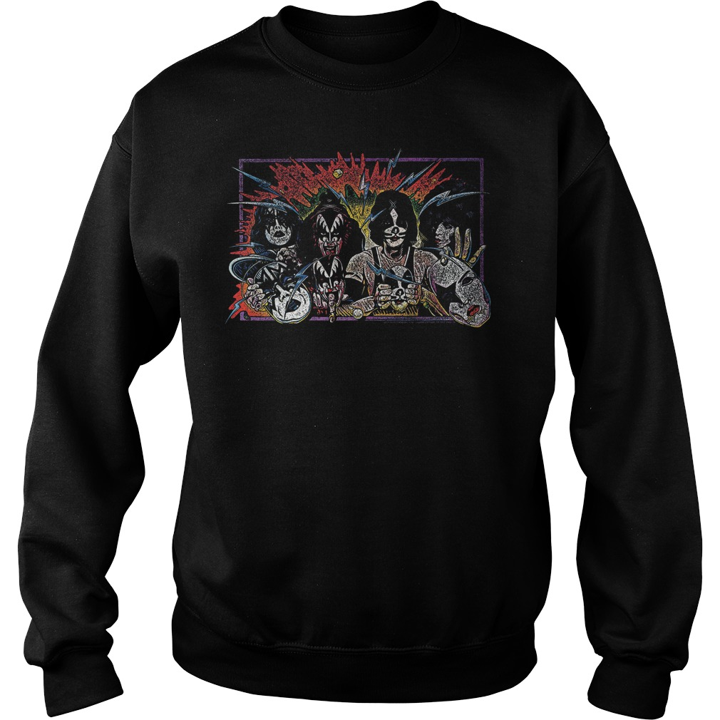 Kiss Unmasked Sweater