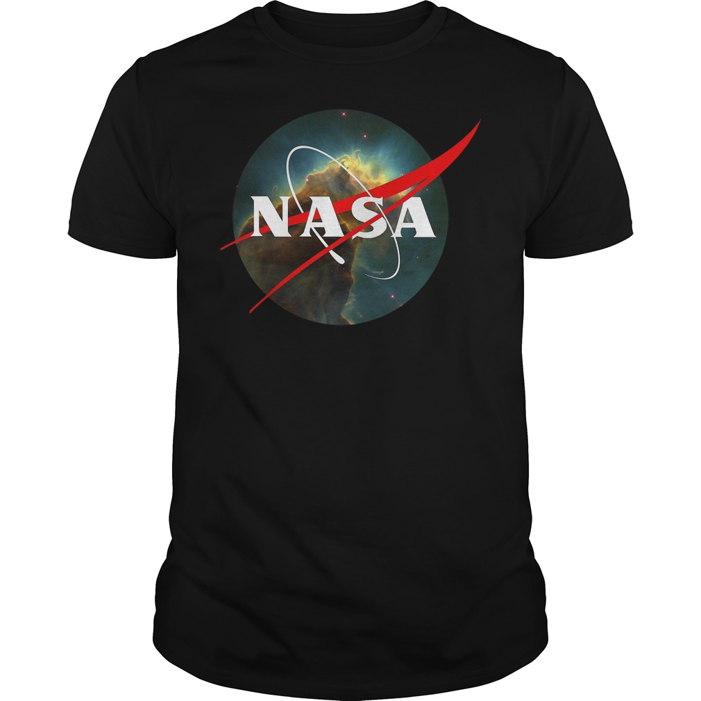 Nasa Meatball Logohubble Space Edition Womens Chiffon Top By Marcod Shirt