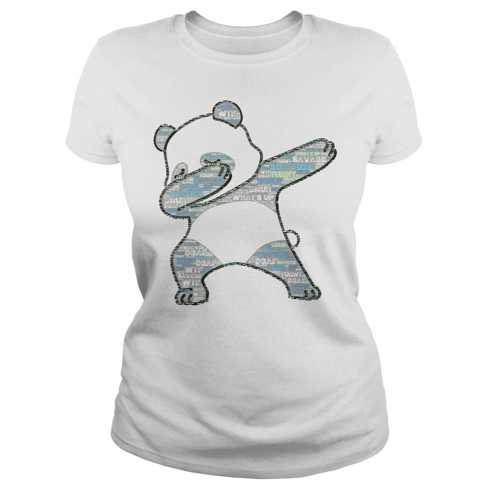 Original Slang Dabbing Panda Ladies