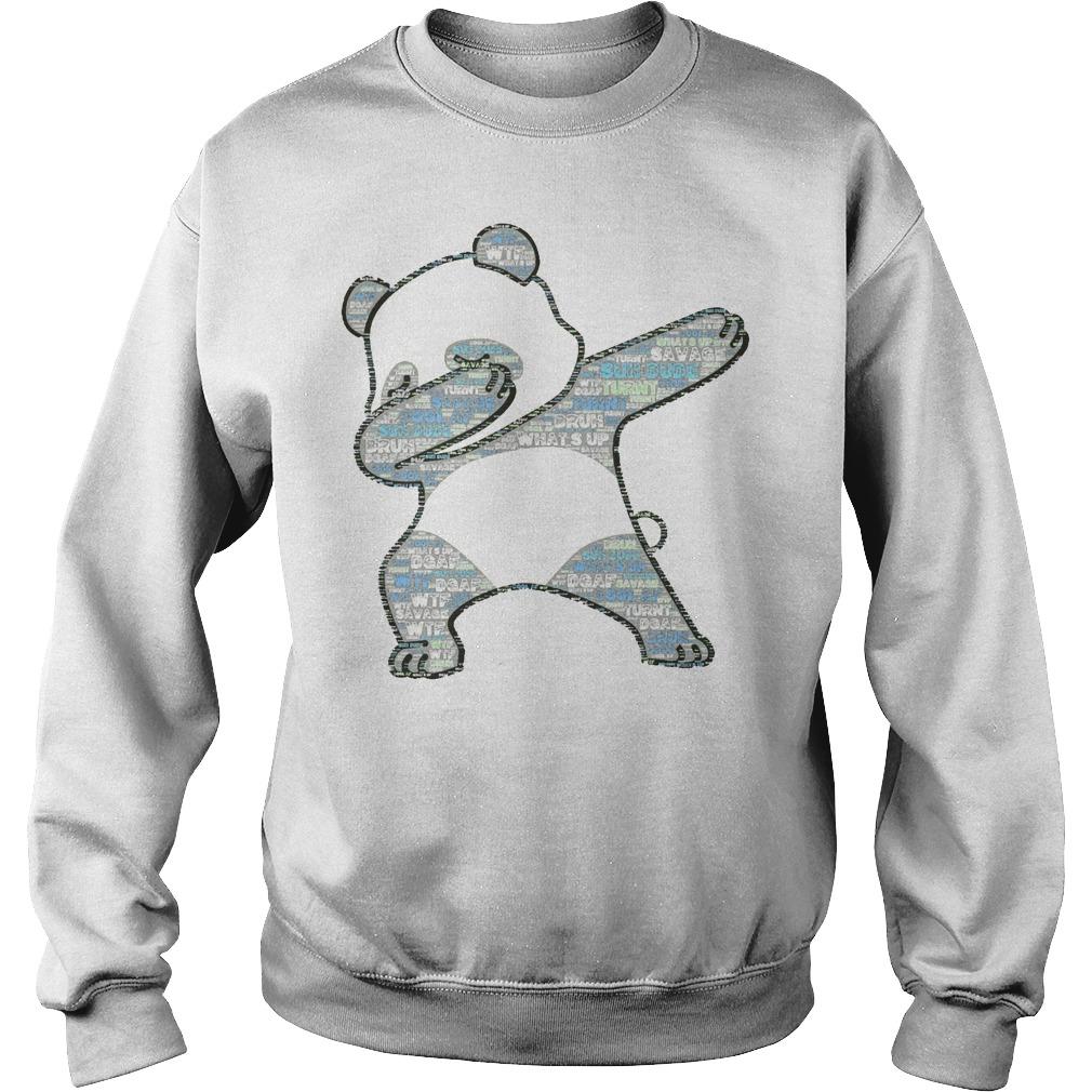 Original Slang Dabbing Panda Sweater