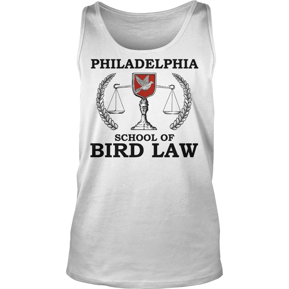 Philadelphia School Of Bird Law Tanktop
