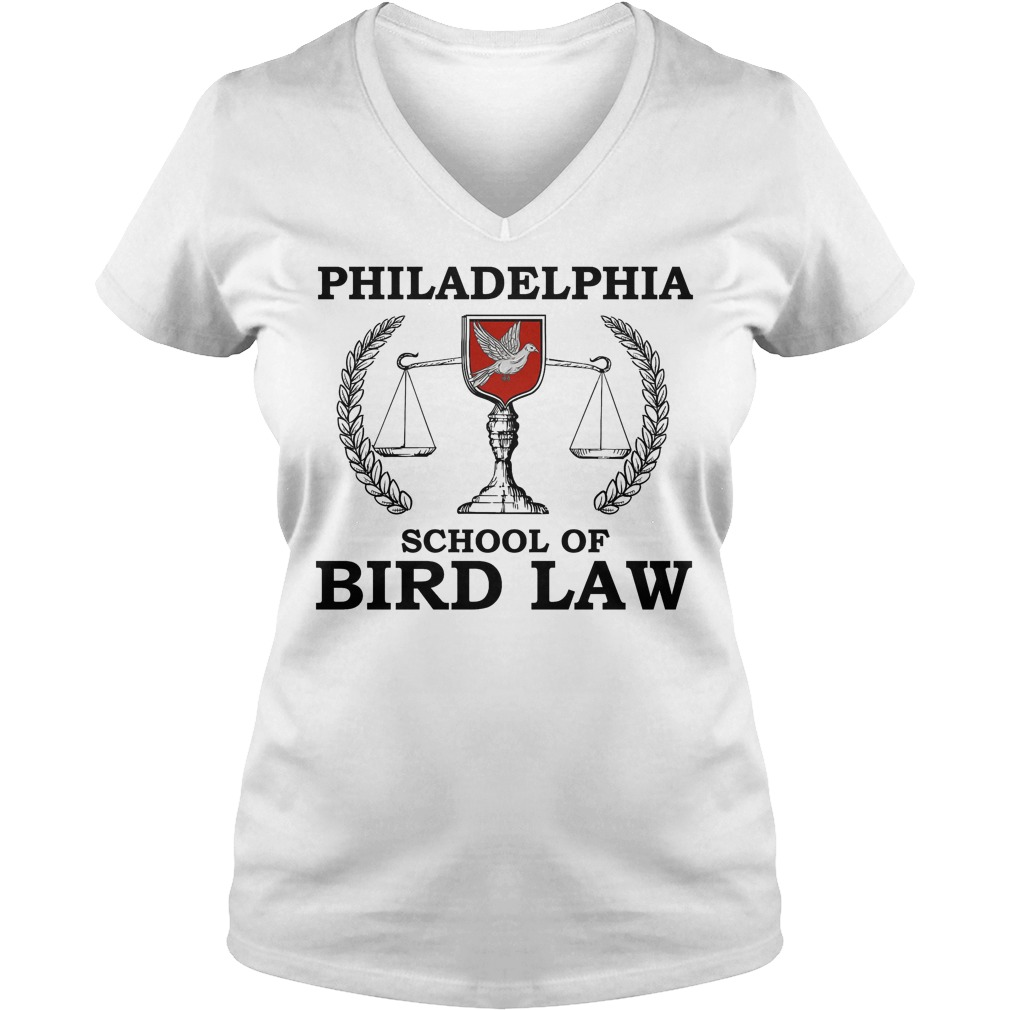 Philadelphia School Of Bird Law V Neck