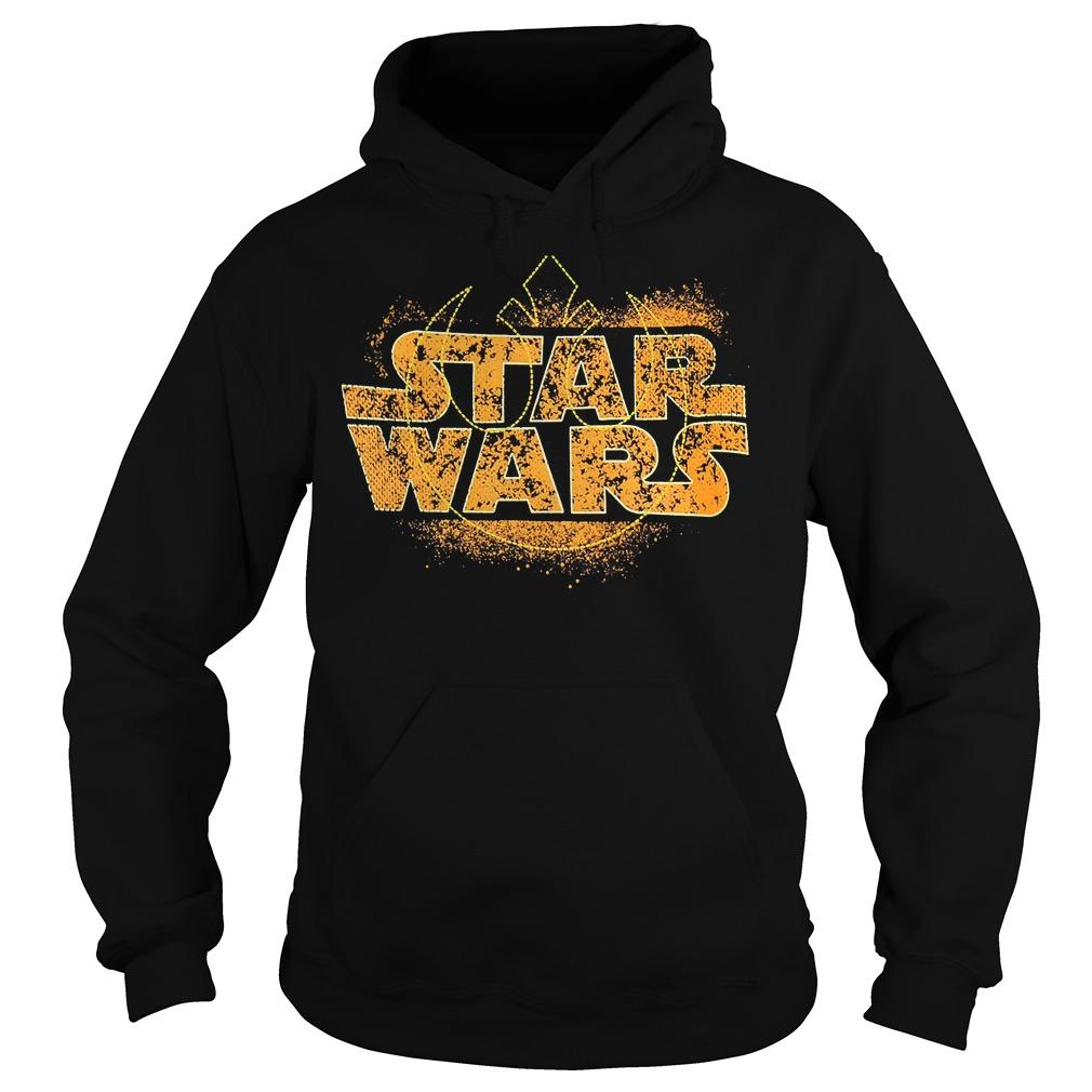 Star Wars Logo Ringer Hoodie