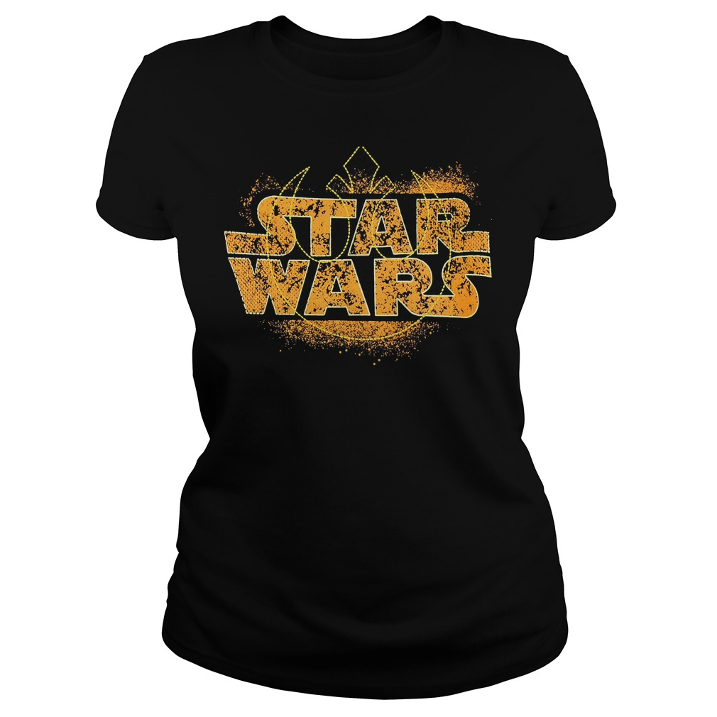 Star Wars Logo Ringer Ladies