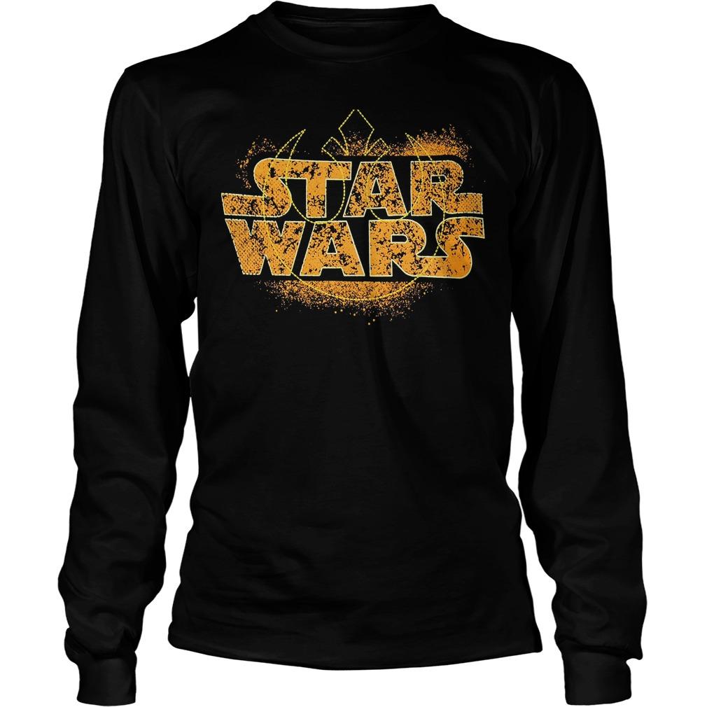 Star Wars Logo Ringer Longsleeve