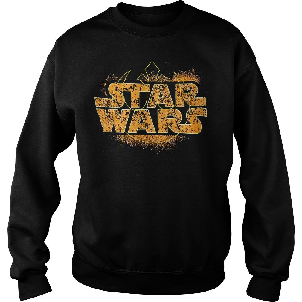 Star Wars Logo Ringer Sweater