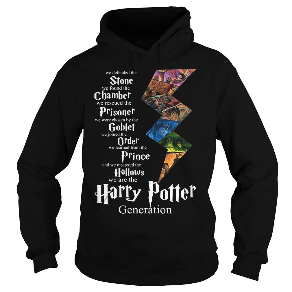 Stone Chamber Prisoner Goblef Prince Hallows Harry Potter Hoodie