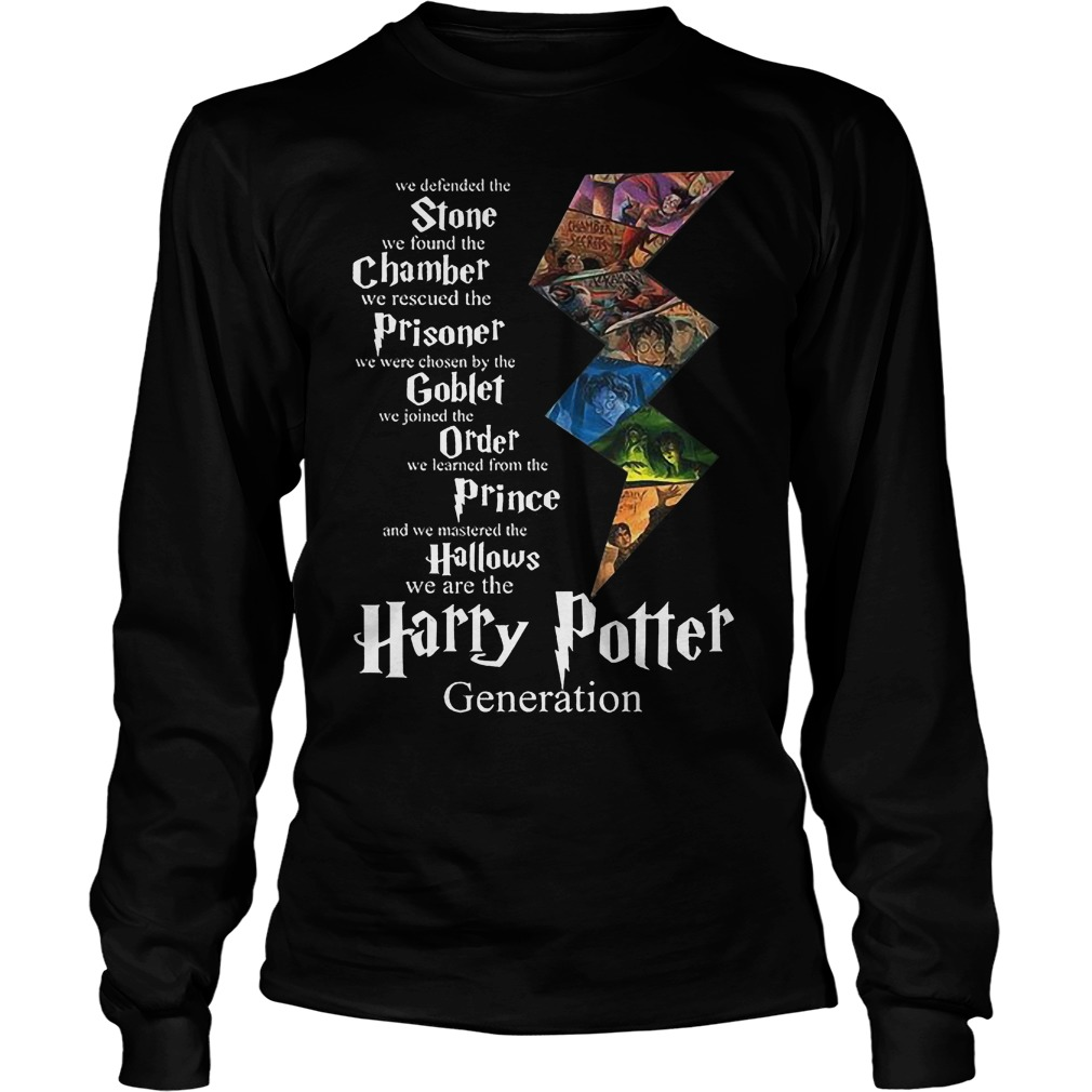 Stone Chamber Prisoner Goblef Prince Hallows Harry Potter Longsleeve