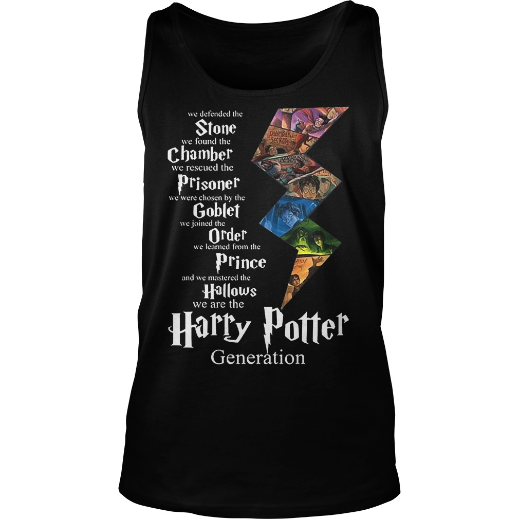 Stone Chamber Prisoner Goblef Prince Hallows Harry Potter Tanktop