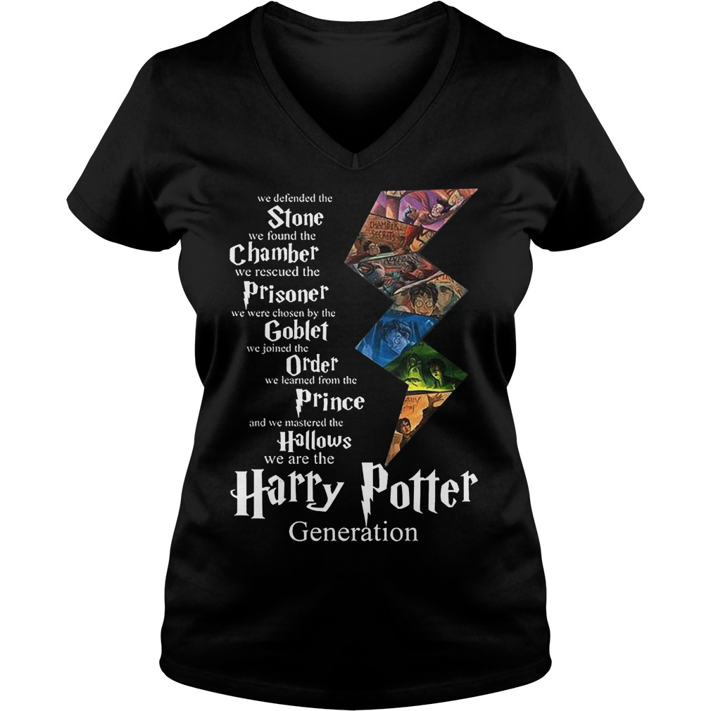 Stone Chamber Prisoner Goblef Prince Hallows Harry Potter V Neck