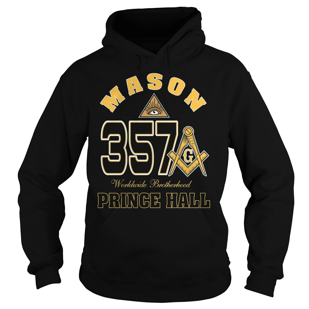 The Masonic Freemason Worldwide Brotherhood Price Hall 357 Hoodie