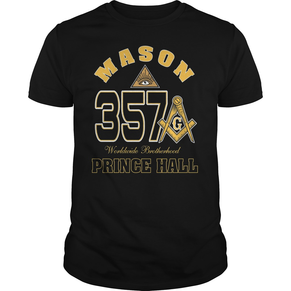 The Masonic Freemason Worldwide Brotherhood Price Hall 357 Shirt