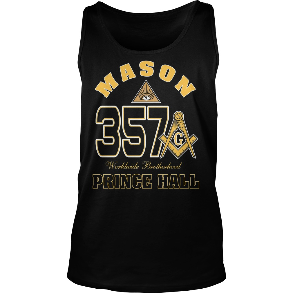 The Masonic Freemason Worldwide Brotherhood Price Hall 357 Tanktop