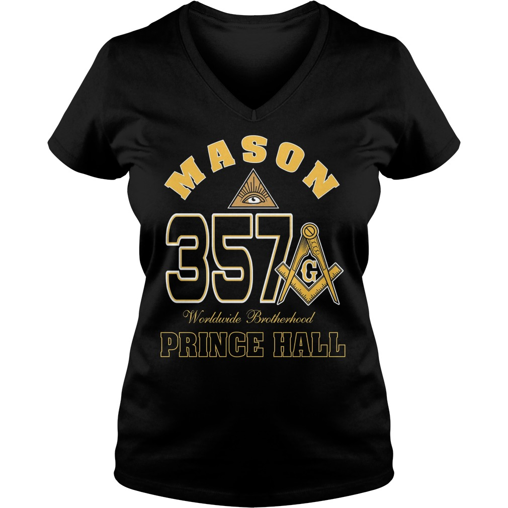 The Masonic Freemason Worldwide Brotherhood Price Hall 357 V Neck