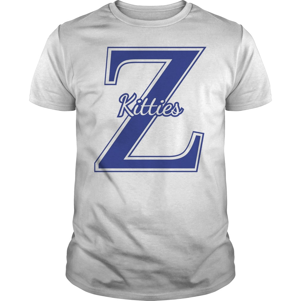 Zeta Phi Beta Z Kitty Shirt