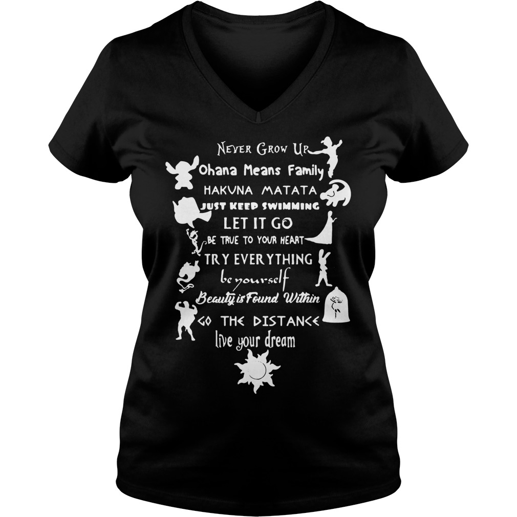 11 Best Disney Lessons Shirt V Neck